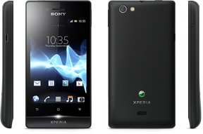 sony xperia miro views black