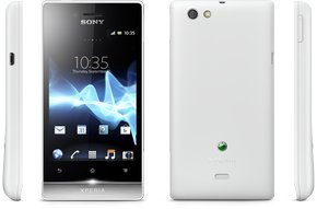 sony xperia miro views white