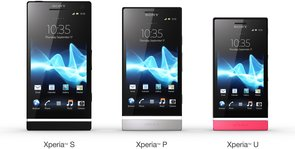 SONY XPERIA NXT 3X GROUP FRONT PINK