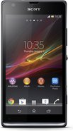 sony xperia sp front black