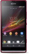 sony xperia sp front red