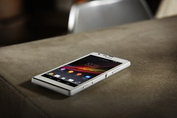 SONY XPERIA SP ON STONE