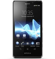 SONY XPERIA T LT30 SILVER FRONT