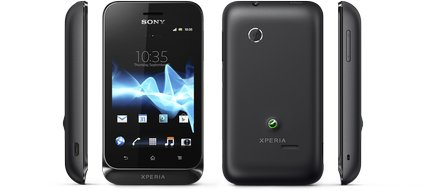 sony xperia tipo black views