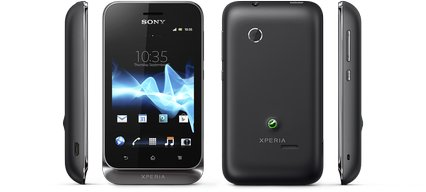 SONY XPERIA TIPO DUAL VIEWS BLACK
