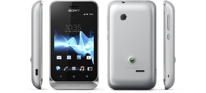 SONY XPERIA TIPO DUAL VIEWS SILVER