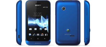 SONY XPERIA TIPO VIEWS BLUE