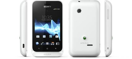 SONY XPERIA TIPO VIEWS WHITE