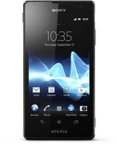 sony xperia tx black front