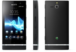 SONY XPERIA U BLACK FRONT SIDE BACK