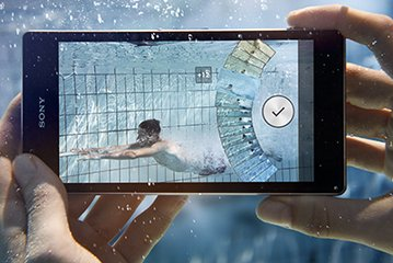 SONY XPERIA Z1 2 CAMERA UNDERWATER