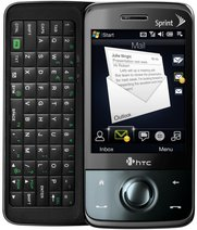 sprint htc touch pro front open