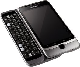 t-mobile g2 qwerty front