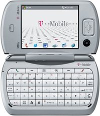 T-MOBILE MDA PRO FRONT OPEN SCREEN
