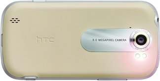 t-mobile mytouch 4g slide khaki back