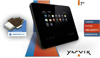 YARVIK TAB264 FEATURES