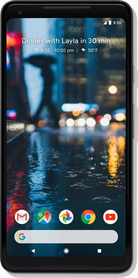 Google Pixel XL Phone 2 Global TD-LTE 64GB G011C  (LG Taimen) Detailed Tech Specs