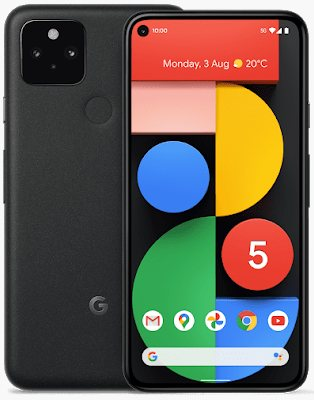 Google Pixel 5 5G Global TD-LTE 128GB GTT9Q  (Google Redfin) Detailed Tech Specs