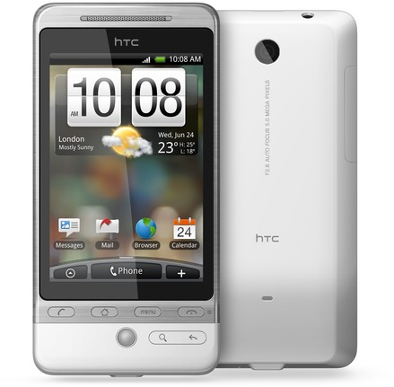 HTC Hero A6262  (HTC Hero 100) Detailed Tech Specs