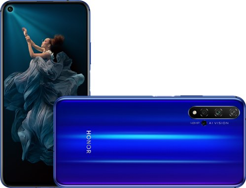 Huawei Honor 20 4G+ Dual SIM TD-LTE CN 128GB YAL-TL00  (Huawei Yale) Detailed Tech Specs