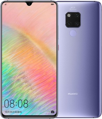 Huawei Mate 20 X 5G Dual SIM TD-LTE CN 256GB EVR-AN00  (Huawei Everest) Detailed Tech Specs