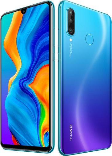 Huawei P30 Lite New Edition Dual SIM TD-LTE EMEA 256GB MAR-L21BX  (Huawei Marie Claire) Detailed Tech Specs