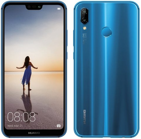 Huawei P20 Lite Dual SIM LTE-A EMEA ANE-LX1 / Nova 3e ANE-L21
