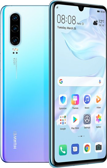 Huawei P30 Standard Edition Global Dual SIM TD-LTE ELE-L29 128GB  (Huawei Elle) Detailed Tech Specs