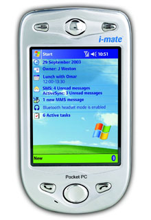 I-Mate Pocket PC Phone Edition  (HTC Himalaya)
