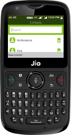 Reliance JioPhone 2 Dual SIM TD-LTE IN