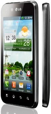 LG P970 Optimus Black / Optimus Schwarz