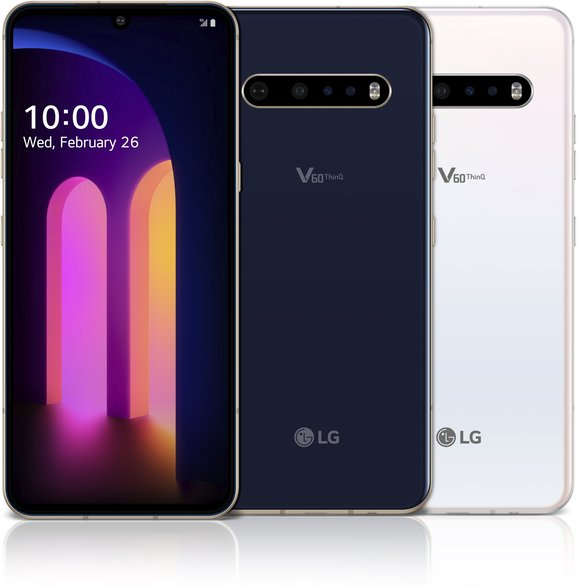 LG LMV600TML V60 ThinQ 5G TD-LTE US V600TM  (LG TimeLM) Detailed Tech Specs
