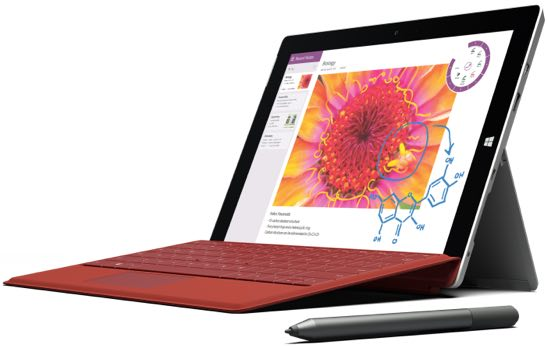 Microsoft 1645 Surface 3 Tablet 128GB