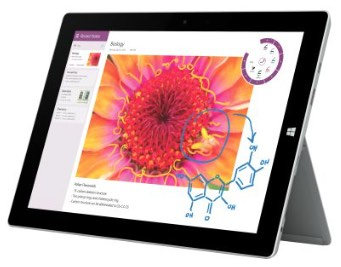 Microsoft 1657 Surface 3 Tablet LTE 64GB