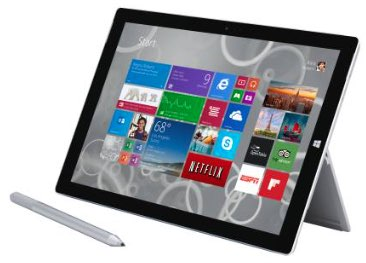 Microsoft 1631 Surface Pro 3 Tablet 128GB