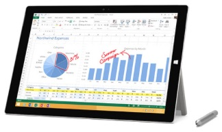 Microsoft 1631 Surface Pro 3 Tablet 64GB