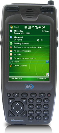 M3Mobile M3 Sky AlphaNumeric MC-7100S