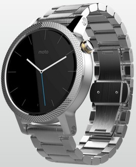 Motorola Moto 360 2nd Gen 2015 Men 42mm Smart Watch 360S