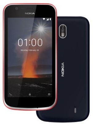 Nokia 1 TD-LTE EMEA  (HMD FRT) Detailed Tech Specs