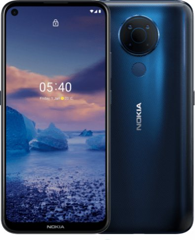 Nokia 5.4 2021 Global Dual SIM TD-LTE 64GB  (HMD 5.4) Detailed Tech Specs