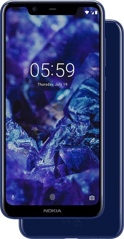 Nokia 5.1 Plus 2018 Standard Edition Dual SIM TD-LTE IN 64GB  (HMD Bravo)