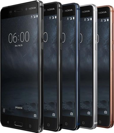 Nokia 6 Dual SIM TD-LTE AM 32GB  (HMD D1C) Detailed Tech Specs