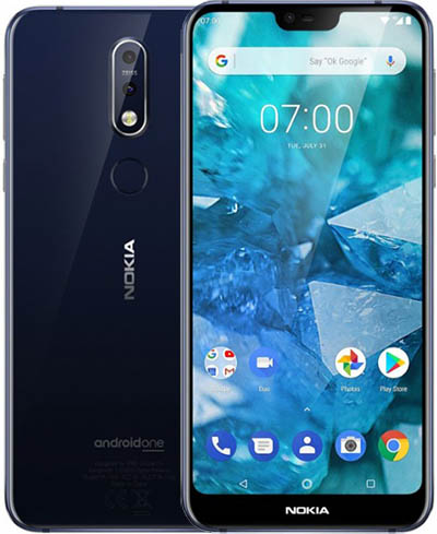 Nokia 7.1 TD-LTE EMEA 32GB  (HMD Rooster)