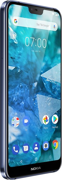 Nokia 7.1 Dual SIM TD-LTE EMEA 32GB  (HMD Rooster) Detailed Tech Specs