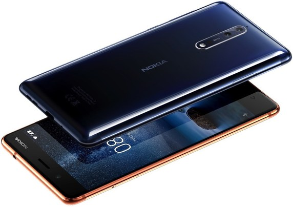 Nokia 8 Dual SIM TD-LTE AM Detailed Tech Specs