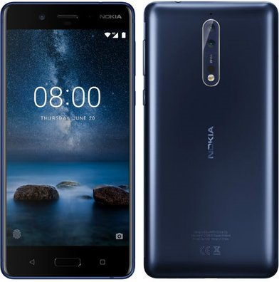 Nokia 8 Global TD-LTE 64GB Detailed Tech Specs