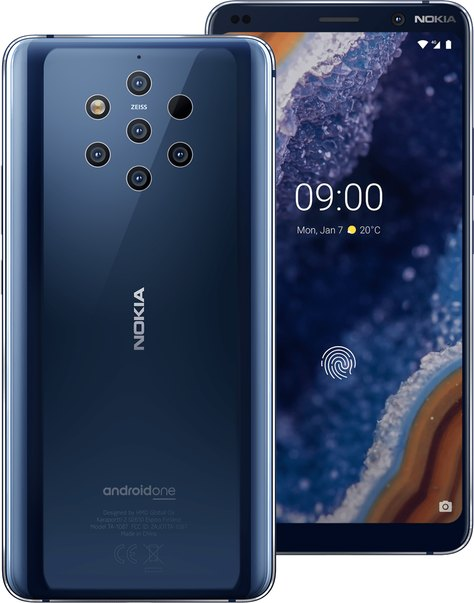 Nokia 9 PureView TD-LTE NA Detailed Tech Specs