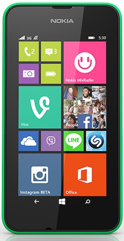 Nokia Lumia 530 Global Dual SIM  (Nokia Rock)
