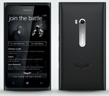 Nokia Lumia 900 Batman The Dark Knight Rises Limited Edition  (Nokia Ace)