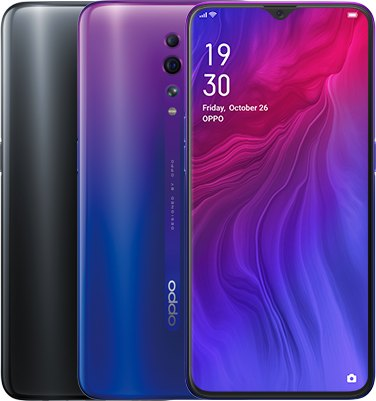 Oppo Reno Z Global Dual SIM TD-LTE 128GB CPH1979  (BBK 1979) Detailed Tech Specs